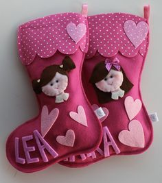 Calze befana personalizzate, by lecosedigrazia, 13,00 € su misshobby.com