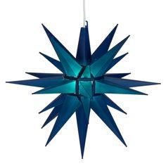 "Moravian Stars - 14"" Blue Moravian Star"