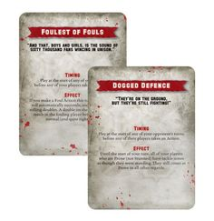 Blood Bowl Team Titans Special Play Card Pack