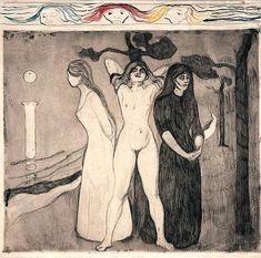 Edvard Munch - Women, 1895