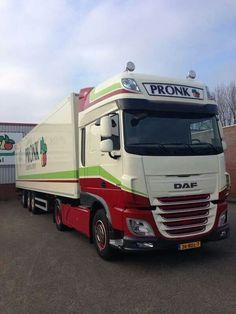 Mooie DAF XF Euro 6