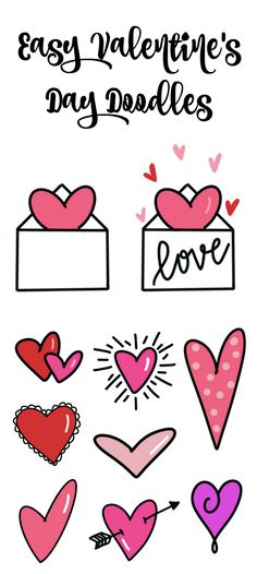 valentine valentines easy doodles drawing simple drawings draw cards hand couple amylattacreations perfect basic special someone