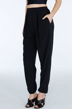 Staple- Black Lounge Pants ($109AUD) by BlackMilk Clothing