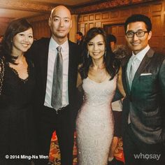 Me and were honored tonight with Pioneer Awards at the OCA Gala. Melinda May, Ming Na Wen, Marvels Agents Of Shield, Chicago Med, Formal Dresses, Wedding Dresses, Awards, It Cast, Fashion