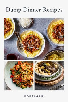 Easy, quick, and always good, these Instant Pot dump dinner recipes make meals at home a breeze. Check out all the best recipes now! Dump Dinners, Meals, Spiced Beef, Chicken Enchilada Casserole, Chicken Tikka Masala, Beef Stroganoff, Food Now, Dinner Recipes, Drink Recipes
