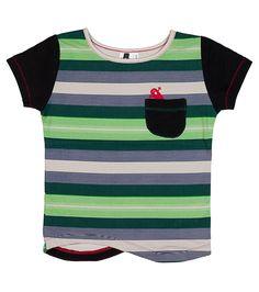 Oishi-m Elasto SS Pocket T Shirt