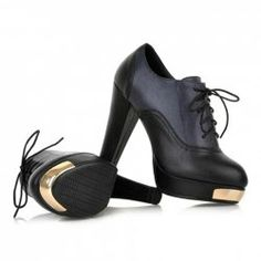 $28.78 Stylish Casual Lace-Up Splice Design Spring Pumps For Women