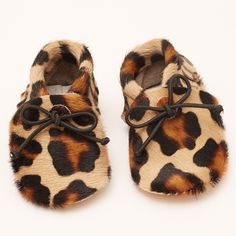 Leather Moccasins - Leopard Print - online boutique shop for casual and formalwear
