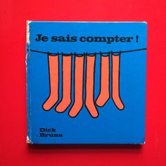 """Dick Bruna """"I Can Count"""" French Vintage book"""