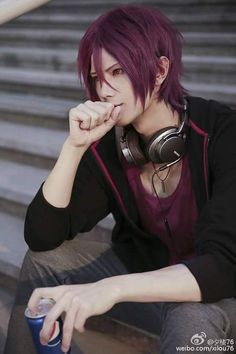 "freeiwatobihotties: "" A nice Rin Matsuoka cosplay by xilou76 """