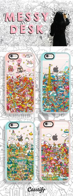 Not in #HongKong for the CasetifyLCX Popup? You can still shop exclusive designs featured here: https://www.casetify.com/messydesk/collection