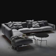Soft Dream Sofa by Antonio Citterio for Flexform Description: The most obvious attribute of the Soft Dream sofa is of course its simplistic beauty. Its mini...