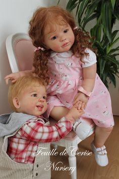 Sarah - reborn toddler fille