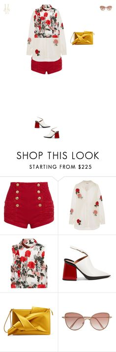 """""""Untitled-346"""" by didi-oliveira ❤ liked on Polyvore featuring Pierre Balmain, Ashish, Ganni, Marni, N°21, Cutler and Gross and Cornelia Webb"""