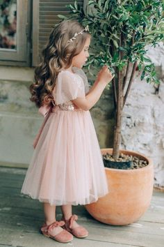 24e69858251 18 Best Flower Girl Headbands images