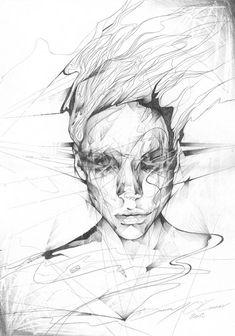 #artiste – Danny O'Connor, la rencontre du papier et du crayon