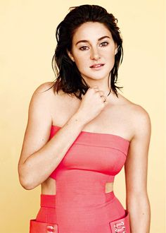 Shailene Woodley photographed by Thomas Whiteside for InStyle, March 2016