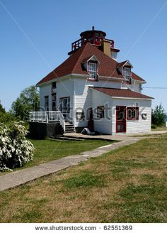 Image detail for -Historic Lighthouse At Cabot Head In Tobermory Ontario Stock Photo . Tobermory Ontario, Beach Stuff, Lighthouses, Art And Architecture, Milan, Trail, Coloring, Collections