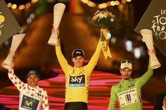 It was with a touch of class that Froome stood on the podium in Paris