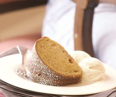 Pumpkin & Ginger Pound Cake Recipe