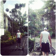 Jogging with mark :)