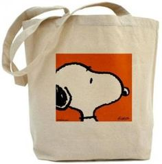 Snoopy Canvas Tote Bag