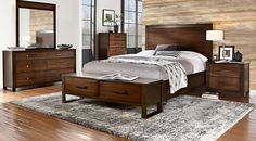 Affordable Panel Queen Bedroom Sets - Rooms To Go Furniture