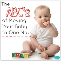 Is it time for your baby to switch to a single nap every day? If so, how do you make that process as painless as possible? These simple ABC's make it easy.