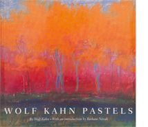 Wolf Kahn Pastels - Wolf Kahn.. I have this amazing book!!
