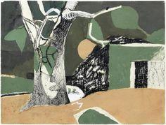 Keith Vaughan, Winter Landscape