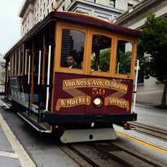 San Francisco cable cars are basically like roller coaster rides through the city's streets.