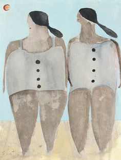 """Mexican Bathers"" Scott Bergey"
