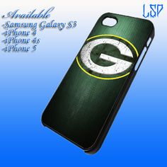 Green Bay Packers NFL Football Team Custom For iPhone 4/4s case,iPhone 5 case, and Samsung Galaxy S3. $16.77, via Etsy.