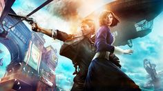Any first person shooter fans of the past decade are familiar with the BioShock franchise. Christmas came early for stoned gamers with Bioshock Infinite. Bioshock Infinite Elizabeth, Bioshock Game, Bioshock Series, Assassins Creed, World Of Warcraft, Video Game News, Video Games, Wallpaper Wide, Mobile Wallpaper