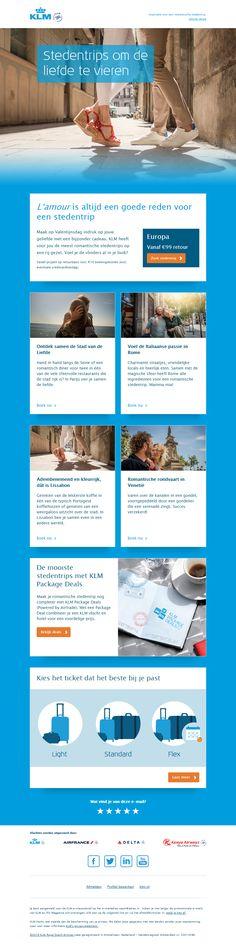 KLM - Valentijnsdag mailing