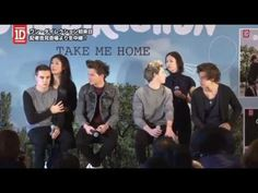 2013-01-18 One Direction Press Conference in Japan... Apparently, Zayn wasn't feeling well so that's why he disappeared halfway through