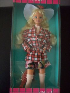 Amazon.com: Pretty in Plaid Barbie: Target Exclusive: Toys & Games