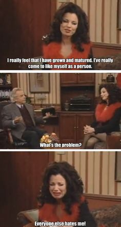 It's the 20 year anniversary of the premiere of The Nanny. Oy vey. Tv Show Quotes, Movie Quotes, Nanny Quotes, Fran Fine, Funny Scenes, Book Tv, Just In Case, I Laughed, Favorite Tv Shows