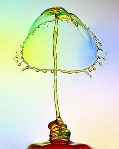 Amazing macro photography of water drops