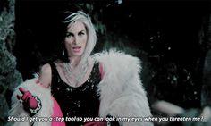 Ha! I've definitely said this to someone. Love Cruella.