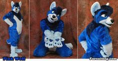 """""""Pink"""" Wolf - Fursuiting.com - by fursuiting"""