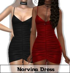 Lumy Sims - Norvina Dress for The Sims 4 The Sims 4 Skin, The Sims 4 Pc, Sims Four, Sims Cc, Sims 4 Mods Clothes, Sims 4 Clothing, Female Clothing, Cc Top, Sims 4 Traits