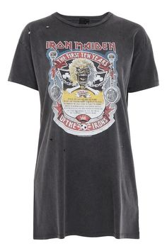 Iron Maiden T-Shirt Dress by And Finally