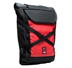 Chrome Bravo Bike Laptop Backpack   black red // SPECIAL PRICE 120,00€ //
