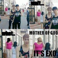 omg.. it's EXO!! | allkpop Meme Center