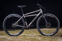This weeks Ti Tuesday is a little different. For starters it's a Thursday not a Tuesday, but for once, you can actually come and check these two awesome Ti bikes out in the flesh. Single Speed Mountain Bike, Mountain Biking, Bmx Bicycle, Cycling Bikes, Sea Otter, Skate Park, Bike Life, Otters, Tuesday
