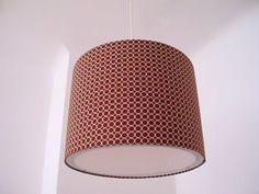 """Lampenschirme - Lampenschirm 34 cm - """"Kreise"""" - ein Designerstück von XBergLampenschirme bei DaWanda"""