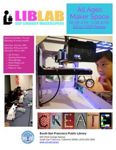 All Ages MakerSpace South San Francisco, 3d Printer