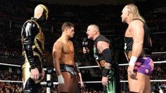 The New Age Outlaws defend their newly won WWE Tag Team Titles against Cody Rhodes & Goldust.