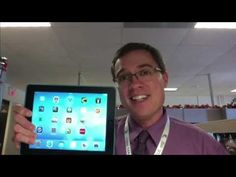 """Help Ben win!  Go """"like"""" his video on Youtube so he can win notoriety and STUFF from Techsmith ▶ How To: Screen Record Your iPad - ScreenChamp Finalist 2013 - YouTube"""